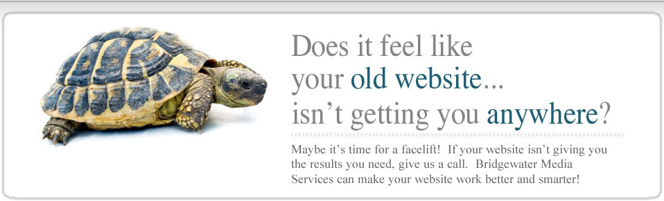 Does your old website feel slow?
