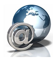 Domain Name Email Icon